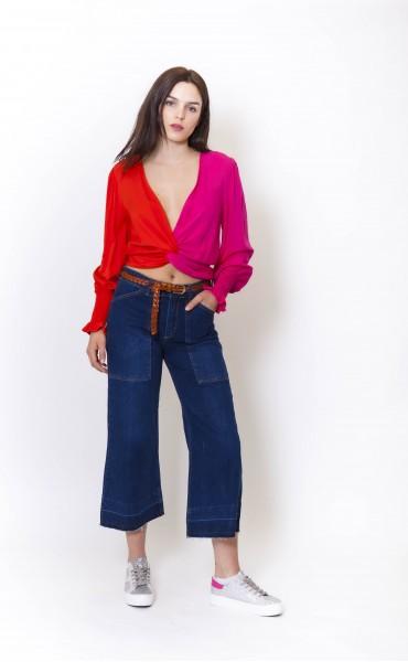 Pantalon jean large PRATT