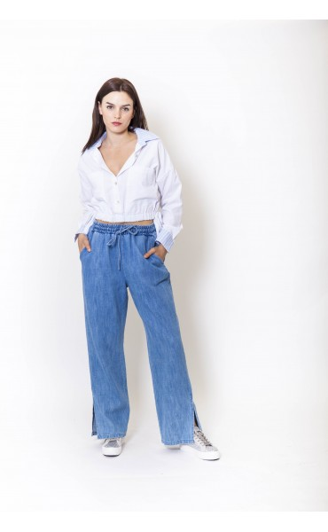 Pantalon jean large PETER